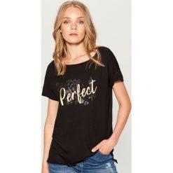 Koszulka basic - Czarny. Białe t-shirty damskie marki Adidas, xs. Za 49,99 zł.