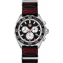 ZEGAREK TAG HEUER FORMULA 1 CAZ101E.FC8228. Czarne zegarki męskie TAG HEUER, szklane. Za 5590,00 zł.