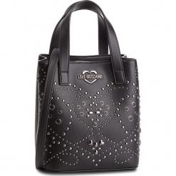 Torebka LOVE MOSCHINO - JC4127PP17LR0000 Nero/Galv.Nero. Czarne torebki klasyczne damskie Love Moschino, ze skóry ekologicznej. Za 799,00 zł.