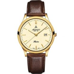 Zegarek Atlantic Męski SEALINE 22341.45.31 Szafirowe szkło brązowy. Brązowe zegarki męskie Atlantic, szklane. Za 788,99 zł.