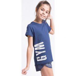 Bluzki dziewczęce: Koszulka sportowa dla dużych dziewcząt JTSD402z – granatowy