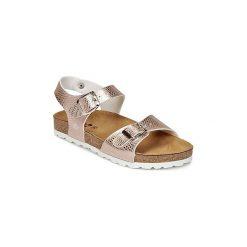 Sandały Dziecko  Citrouille et Compagnie  RELUNE. Żółte sandały dziewczęce marki Citrouille et Compagnie. Za 149,00 zł.
