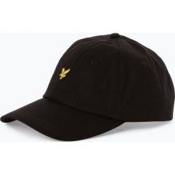 Lyle & Scott - Męska czapka z daszkiem, czarny. Czarne czapki z daszkiem męskie Lyle & Scott, z haftami, eleganckie. Za 129,95 zł.