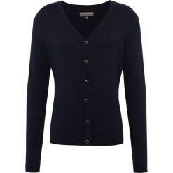 Finshley & Harding - Kardigan męski, niebieski. Niebieskie swetry rozpinane męskie Finshley & Harding, m, prążkowane. Za 179,95 zł.