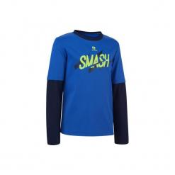 T-Shirt Tenis Essentiel 500. Niebieskie t-shirty damskie marki ARTENGO, z materiału. W wyprzedaży za 14,99 zł.