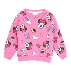 Różowa Bluza Blossoming. Czerwone bluzy niemowlęce marki Born2be. Za 34,99 zł.
