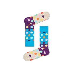Skarpetki Happy Socks BDB01-6001. Brązowe skarpetki męskie Happy Socks, z bawełny. Za 24,43 zł.