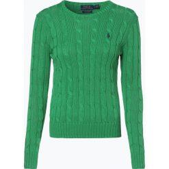 Polo Ralph Lauren - Sweter damski, niebieski. Niebieskie swetry klasyczne damskie Polo Ralph Lauren, xl, z bawełny, polo. Za 699,95 zł.