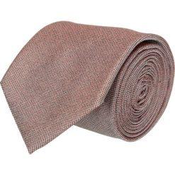 Krawat platinum brąz classic 204. Brązowe krawaty męskie Recman, z tkaniny, eleganckie. Za 49,00 zł.
