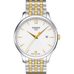 PROMOCJA ZEGAREK TISSOT T-CLASSIC T063.610.22.037.00. Szare zegarki męskie TISSOT, ze stali. W wyprzedaży za 1390,40 zł.
