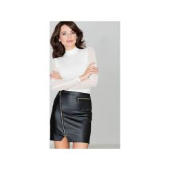 Spódnica K096 Czarny. Czarne długie spódnice KATRUS, s. Za 99,00 zł.