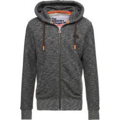 Superdry ORANGE LABEL HYPER POP  Bluza rozpinana cinder charcoal grit. Pomarańczowe bluzy męskie rozpinane marki Superdry, l, z bawełny, z kapturem. Za 379,00 zł.