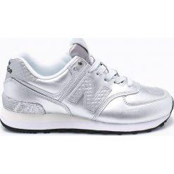New Balance - Buty WL574NRI. Szare buty sportowe damskie New Balance, z materiału. W wyprzedaży za 319,90 zł.