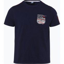 T-shirty męskie: North Sails – T-shirt męski, niebieski
