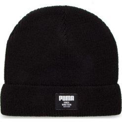 Czapka PUMA - Ribbed Classic Beanie 021709 01 Puma Black. Czarne czapki męskie Puma, z materiału. Za 79,00 zł.