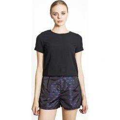 Bluzki asymetryczne: Bluzka z krótkim rękawem