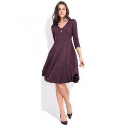 Fille Du Couturier Sukienka Damska Emeraude 38 Fioletowy. Fioletowe długie sukienki Fille Du Couturier, z długim rękawem. Za 229,00 zł.