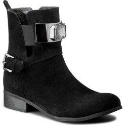 Botki SERGIO BARDI - Brigitta FS127214817DS 801. Czarne buty zimowe damskie Sergio Bardi, ze skóry, na obcasie. W wyprzedaży za 249,00 zł.