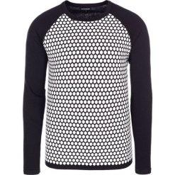 Swetry męskie: Sweter w kolorze czarno-białym