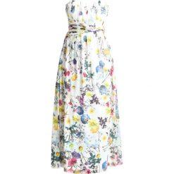 Długie sukienki: Little Mistress Curvy PRINTED Długa sukienka white