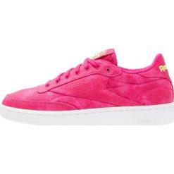Trampki i tenisówki damskie: Reebok Classic CLUB C 85 EH Tenisówki i Trampki pink craze/yellow/white