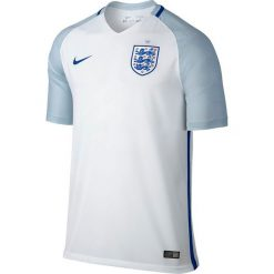 Nike Koszulka męska England Home Stadium biała r. L (724610 100). Białe koszulki do piłki nożnej męskie marki Nike, l. Za 189,72 zł.