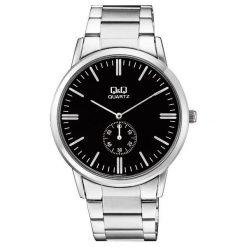 Zegarek Q&Q Męski Klasyczny QA60-202 srebrny. Szare zegarki męskie Q&Q, srebrne. Za 132,50 zł.