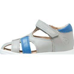 Shoo Pom PIKA Sandały grey/azur. Szare sandały męskie skórzane Shoo Pom, z otwartym noskiem. W wyprzedaży za 223,30 zł.