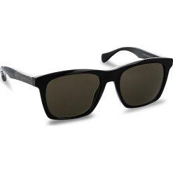 Okulary przeciwsłoneczne damskie aviatory: Okulary przeciwsłoneczne BOSS – 0911/S Blck/Cryblck 1YS