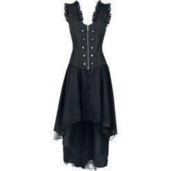 Burleska Gypsy Dress Sukienka czarny. Czerwone długie sukienki marki Mohito, l, z materiału, z falbankami. Za 489,90 zł.