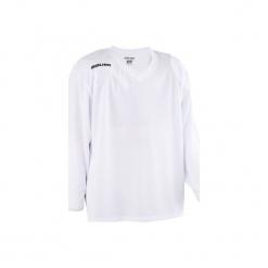 Koszulka Do Hokeja 200. Czerwone t-shirty damskie marki OLAIAN, z materiału, sportowe. Za 79,99 zł.