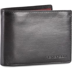 Duży Portfel Męski PETERSON - 3904/A-04-01-01 Czarny. Czarne portfele męskie Peterson, ze skóry. W wyprzedaży za 129,00 zł.