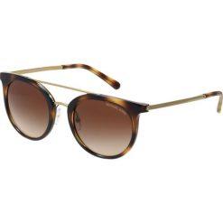 Michael Kors Okulary przeciwsłoneczne havana. Brązowe okulary przeciwsłoneczne damskie aviatory Michael Kors. Za 669,00 zł.
