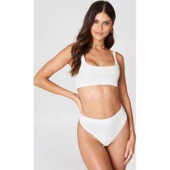 Bez Kategorii: Debiflue x NA-KD Dół bikini z wysokim stanem - White