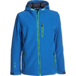 Killtec ADAN Kurtka Softshell blau. Niebieskie kurtki chłopięce sportowe marki bonprix, z kapturem. Za 219,00 zł.