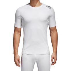 Koszulki sportowe męskie: koszulka termoaktywna męska ADIDAS TECHFIT ALPHASKIN SPORT TEE / CD7172 - TECHFIT ALPHASKIN