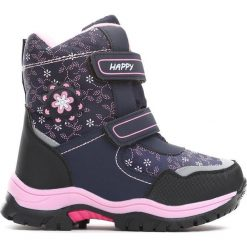 Buty dziecięce: Granatowe Śniegowce Projection