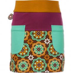"""Spódnica """"Moment Of Hesitation"""" ze wzorem. Brązowe spódniczki dziewczęce marki 4FunkyFlavours Kids, midi. W wyprzedaży za 82,95 zł."""
