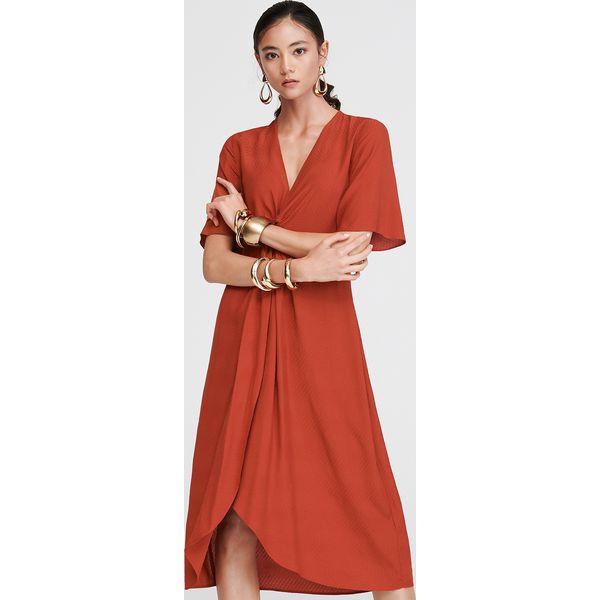 4659afc366666 Żakardowa sukienka - Czerwony - Czerwone sukienki damskie Reserved ...