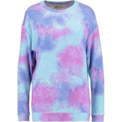 Bluzy damskie: Hollister Co. COZY ADD ON Bluza purple pattern