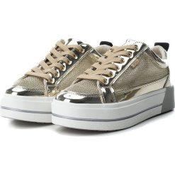 Sneakersy damskie: Sneakersy w kolorze złotym