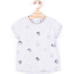 Coccodrillo - Top dziecięcy 92-122 cm. Białe bluzki dziewczęce marki COCCODRILLO, m, z bawełny, z okrągłym kołnierzem. Za 45,90 zł.