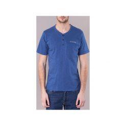 T-shirty z krótkim rękawem Columbia  LOOKOUT POINT NOVELTY SS SHIRT. Niebieskie t-shirty męskie Columbia, m. Za 119,20 zł.