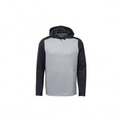 Bluzy Reebok Sport  Bluza z kapturem Training Spacer. Szare bluzy męskie Reebok Sport, l, z kapturem. Za 249,00 zł.
