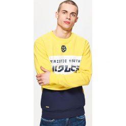 Bluza z nadrukiem - Żółty - 2