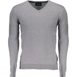 Sweter w kolorze szarym. Niebieskie swetry klasyczne męskie marki GALVANNI, l, z okrągłym kołnierzem. W wyprzedaży za 239,95 zł.