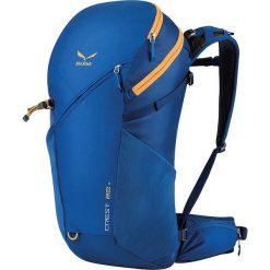 """Plecak """"Crest"""" w kolorze niebieskim - 53 x 25 x 22 cm. Niebieskie plecaki męskie Salewa, z materiału. W wyprzedaży za 259,95 zł."""