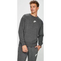 Nike Sportswear - Bluza. Szare bejsbolówki męskie Nike Sportswear, l. W wyprzedaży za 179,90 zł.