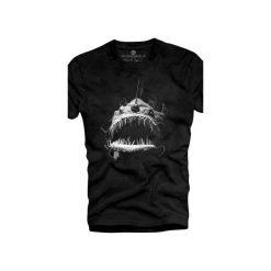 T-shirt UNDERWORLD Ring spun cotton Fish. Szare t-shirty męskie z nadrukiem marki Underworld, m, z bawełny. Za 59,99 zł.