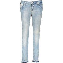 """Spodnie z wysokim stanem: Dżinsy """"Touch Cropped"""" w kolorze niebieskim"""